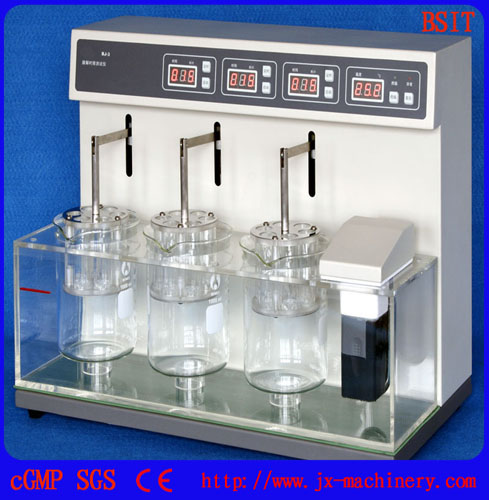 BJ3 Disintegration tester of solid inprescriptive conditions
