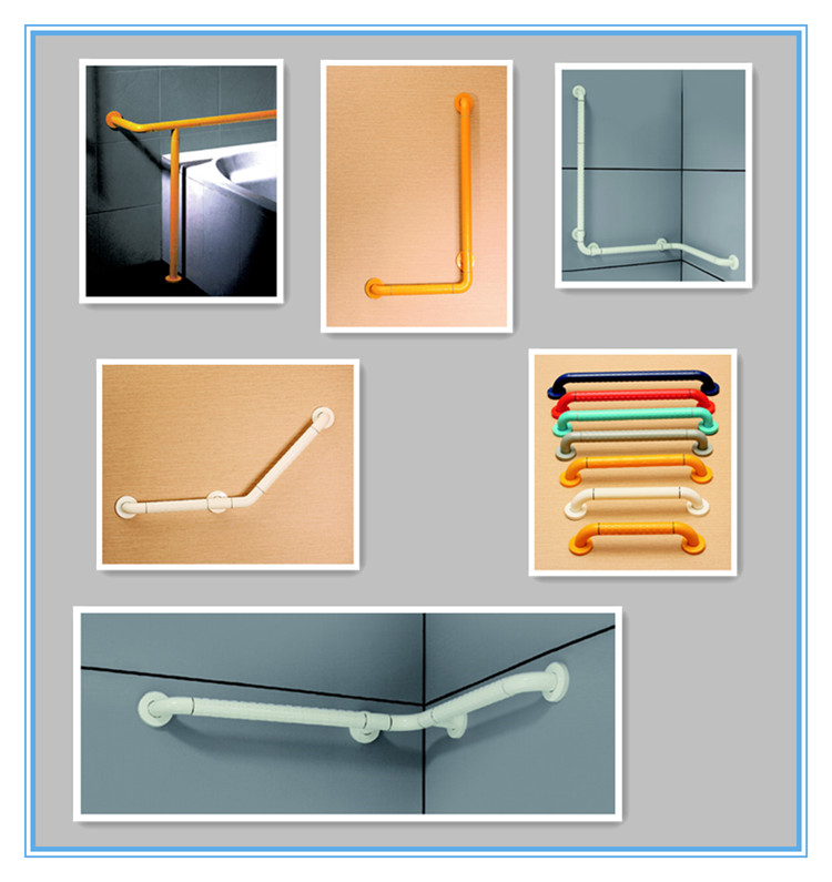 Toilet PVC Disabled Grab Bar