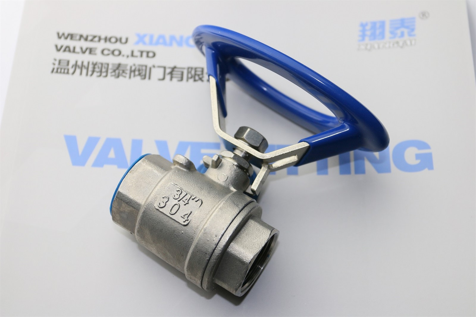 Stainless Steel Oval Ball valve Round handle ball valve