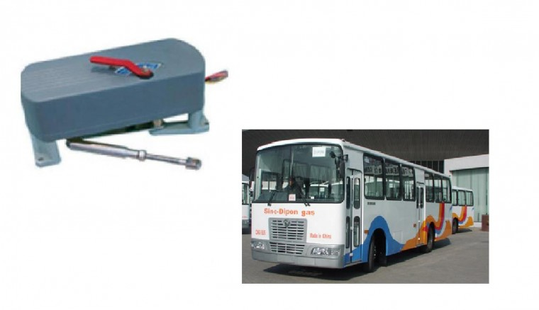 EB100 Electric Bus Folding Door Mechanism for Minibus and City Bus