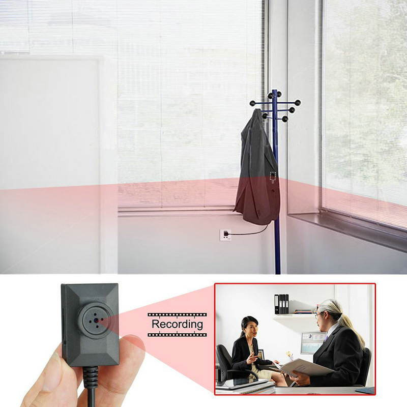 Mini Spy Covert Shirt Button Camera Super 2 Meter Line Wearable Hidden USB Cable Video Recorder