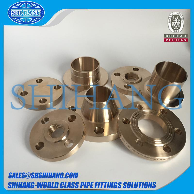 copper nickel cuni 9010 c70600 threaded flange
