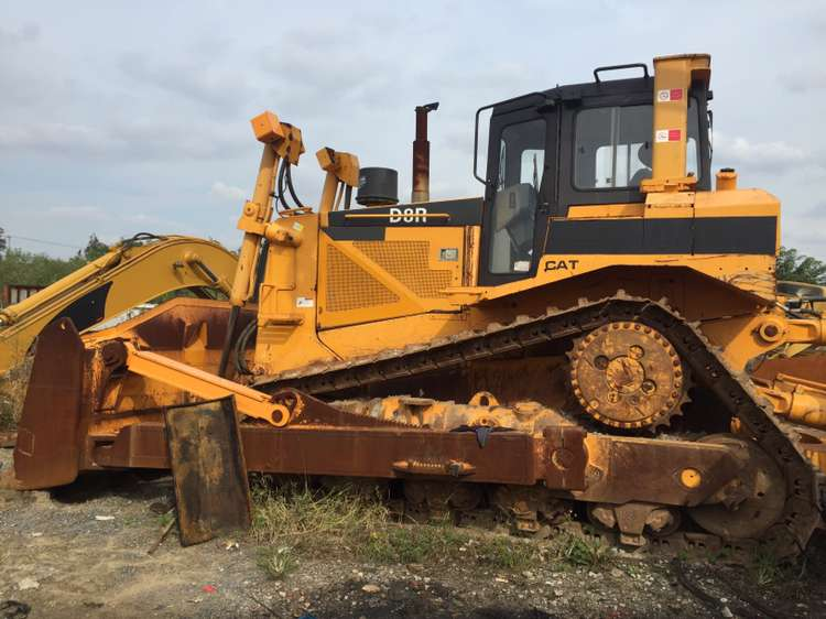 used CAT D8R craler bulldozer