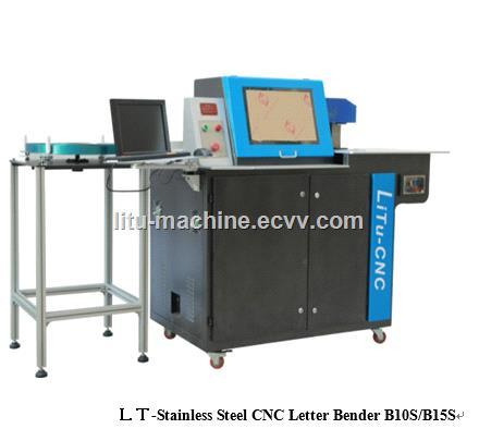 Classic Aluminium metal stainless steel threeinone advertising letter bending machine LTB10S B15S
