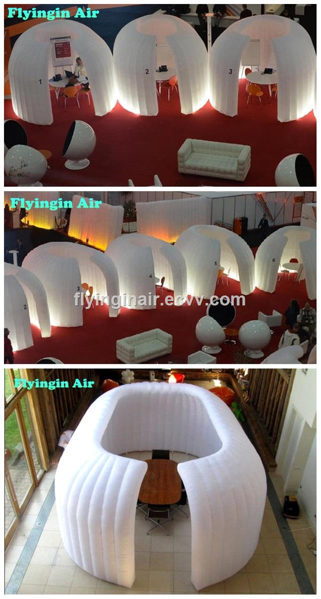 4m Inflatable Circular Tent for Exhibition and Trade Show