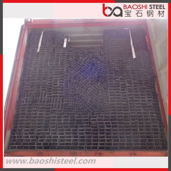 Rectangular Steel PipeTubesHollow Section Galvanized