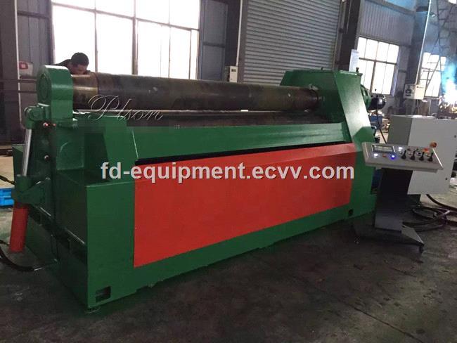 W1220x2500 4roller metal plate rolling machine