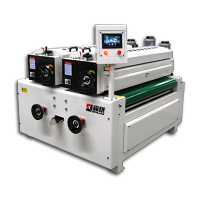 UV double roller coating machine