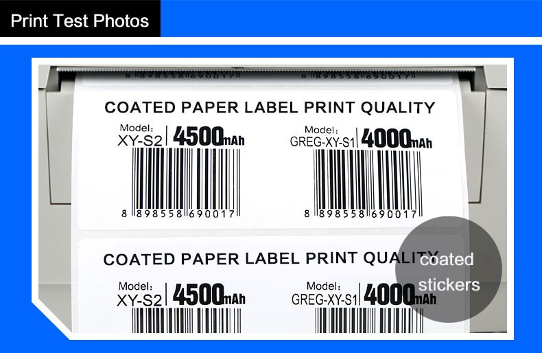 Zebra barcode printer used thermal transfer Resin ribbon for zebra printer