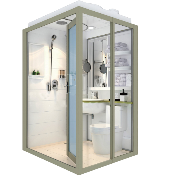 Wholesale China Durable Modular Bathroom Pods