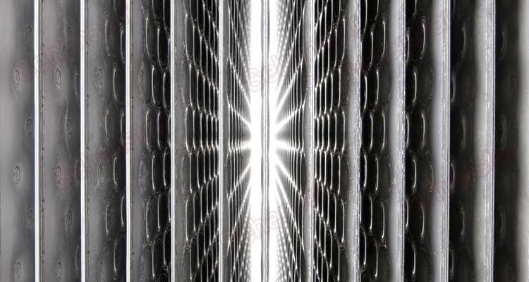 Falling Film Water Coolers Pillow Plate Heat Transfer