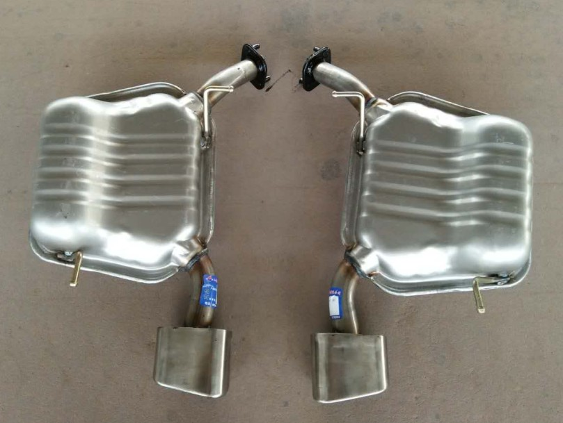 409 stailess steel auto exhaust system muffler from China