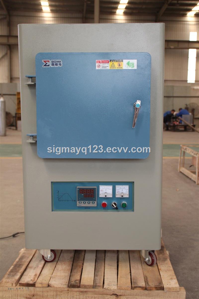 Laboratory Chamber Furnacemuffle furnaceelectric furnace 6 L 1700 Celsius Degree