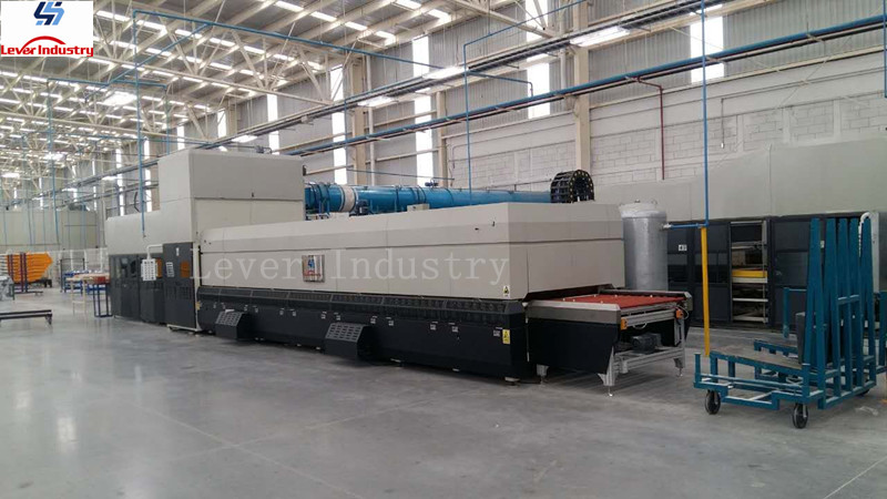 Glass Bending Tempering Furnace for Automotive Side window with high production and high quality