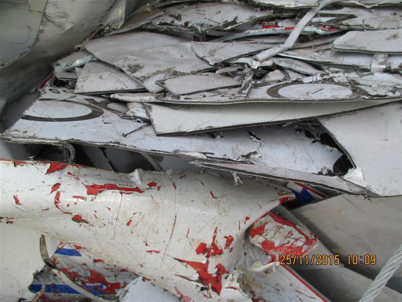 scrap Europe alucobond sheet