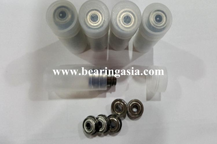 High precision 4114 mm deep groove ball bearing F694