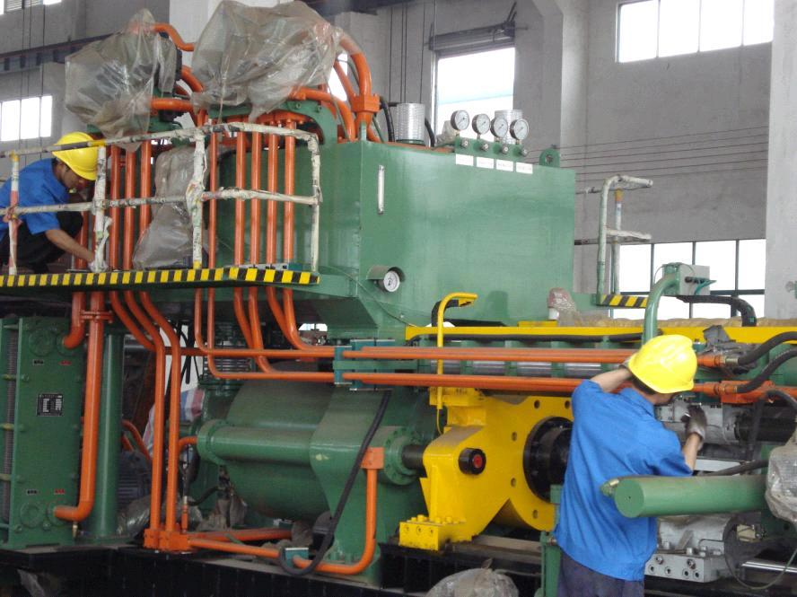 Aluminum Extrusion Press From 660t To 3600t Anodizing And