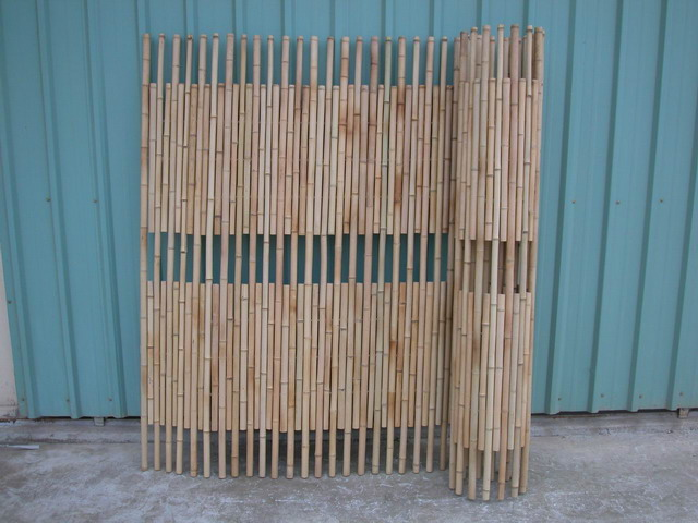 Bamboo Fence - Rolled Bamboo Fence Panels | IslandTropicalDecor.com