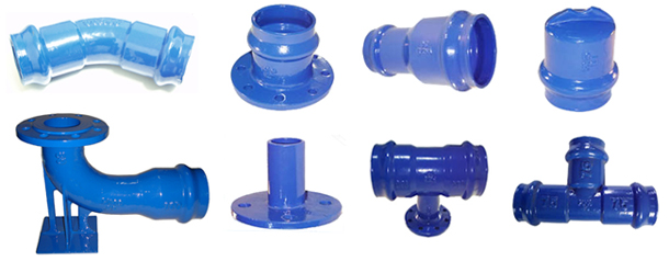 Ductile iron pipe fittings for upvc pipes purchasing