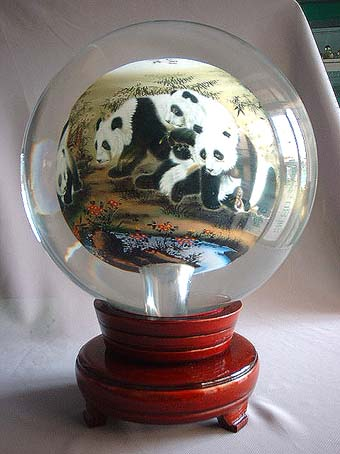 Inside Painting Glass Globe Ball Crystal Ball From China