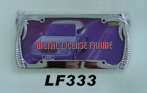 palm tree license plate frame lf33 3 china xgmp