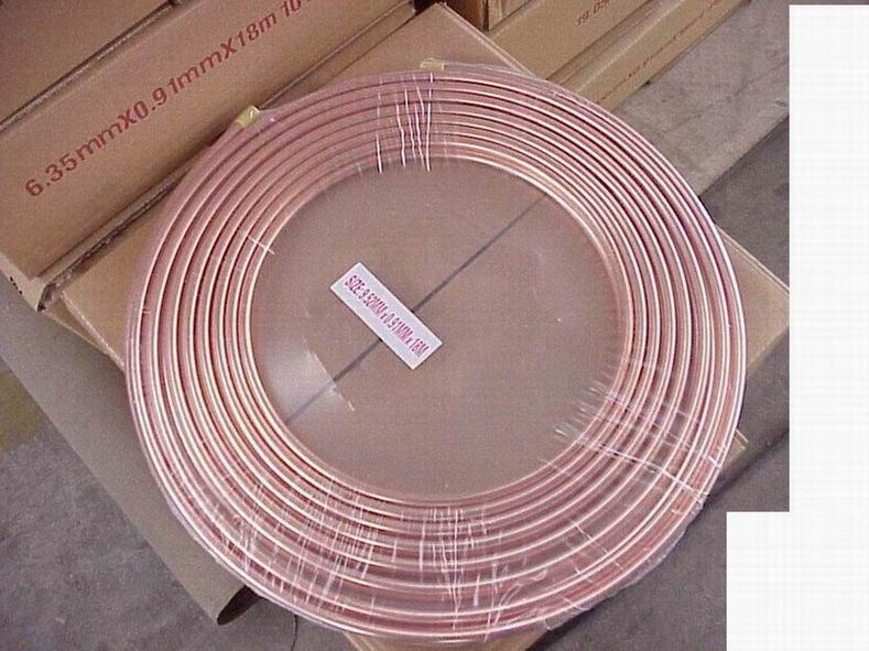 Pancake coils copper tube pipe purchasing