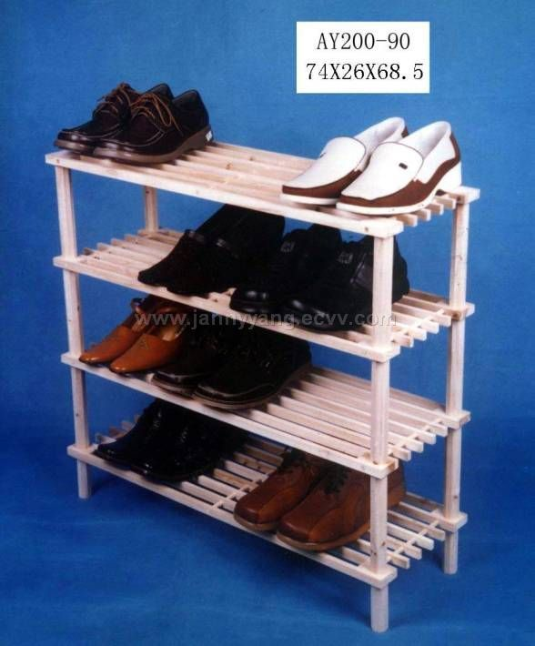 gt; Products Catalog > Wooden Shoe Shelf(Wooden Shoe Rack,Furnitures