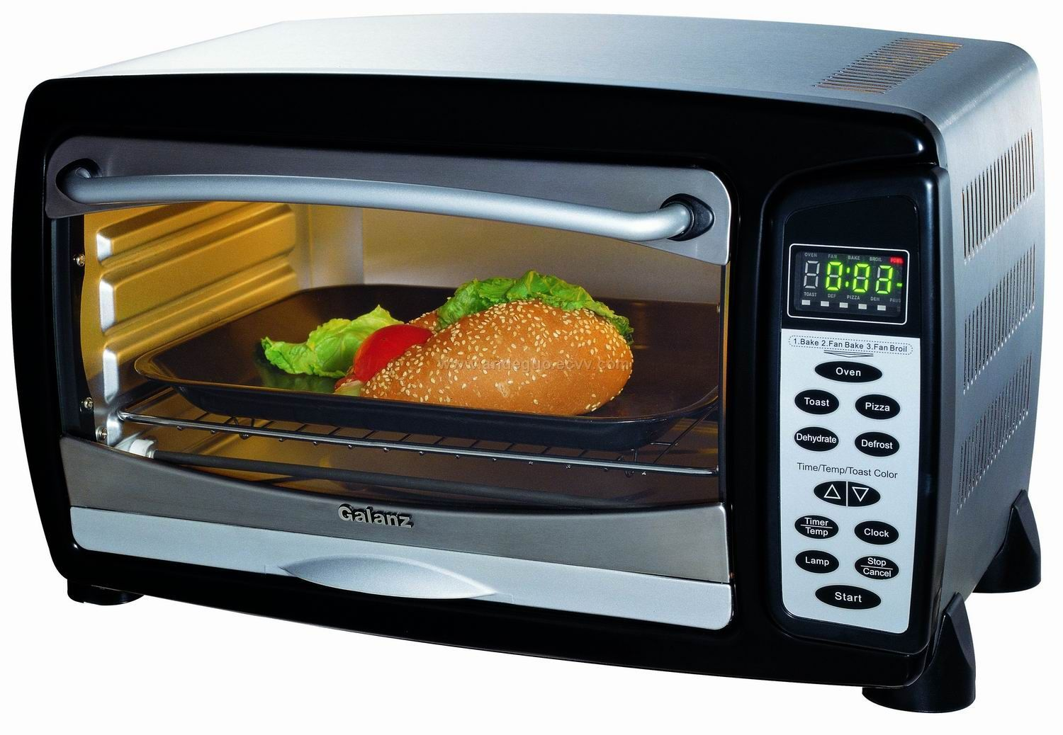 Self Cleaning Toaster ~ Toaster oven kws a purchasing souring agent