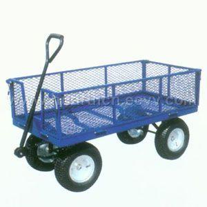 Wagon Dolly Wheell Barrow Hand Trolley Platform Hand Truck