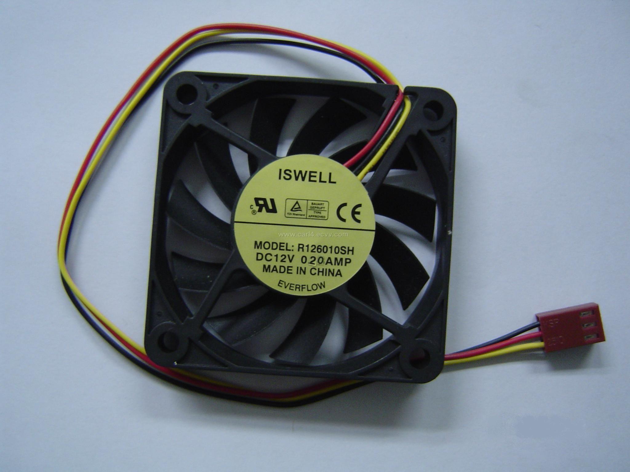 DC Fan R126010DM AI China #79262F