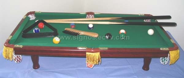 3 feet billiard table(real wood)