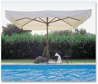 deluxe wooden umbrella 3x4 mt purchasing souring agent purchasing service platform. Black Bedroom Furniture Sets. Home Design Ideas