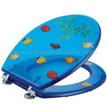 Toilet Seat Tropical Fish Design China