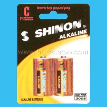 Alkaline Manganese dry cell battery(LR20 / SIZE D / AM1/1.5V )