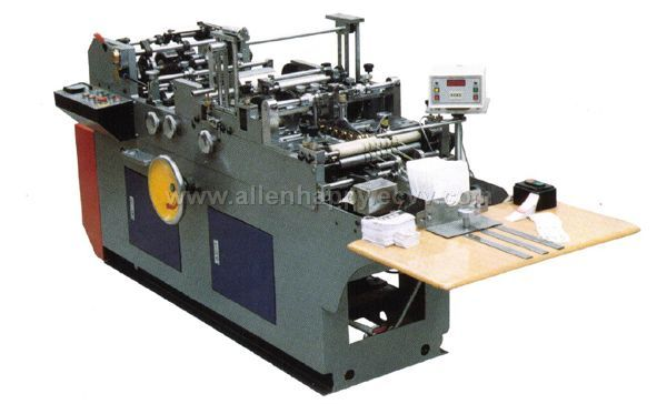 VCD-130 Disc medicine bag gluer machine