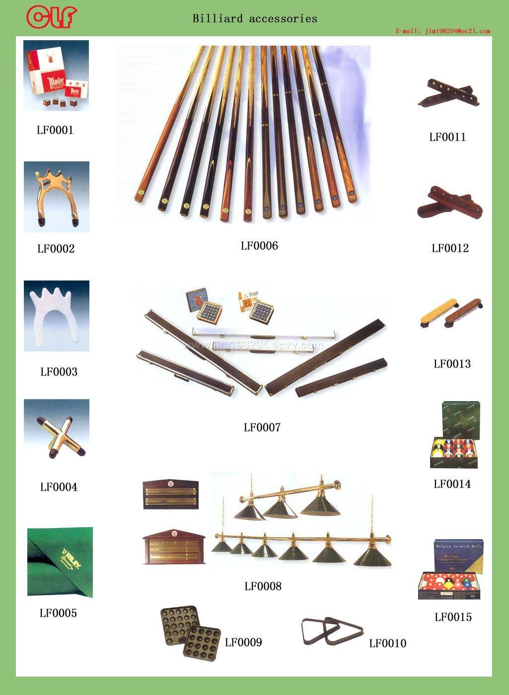 Billiard Equipment China