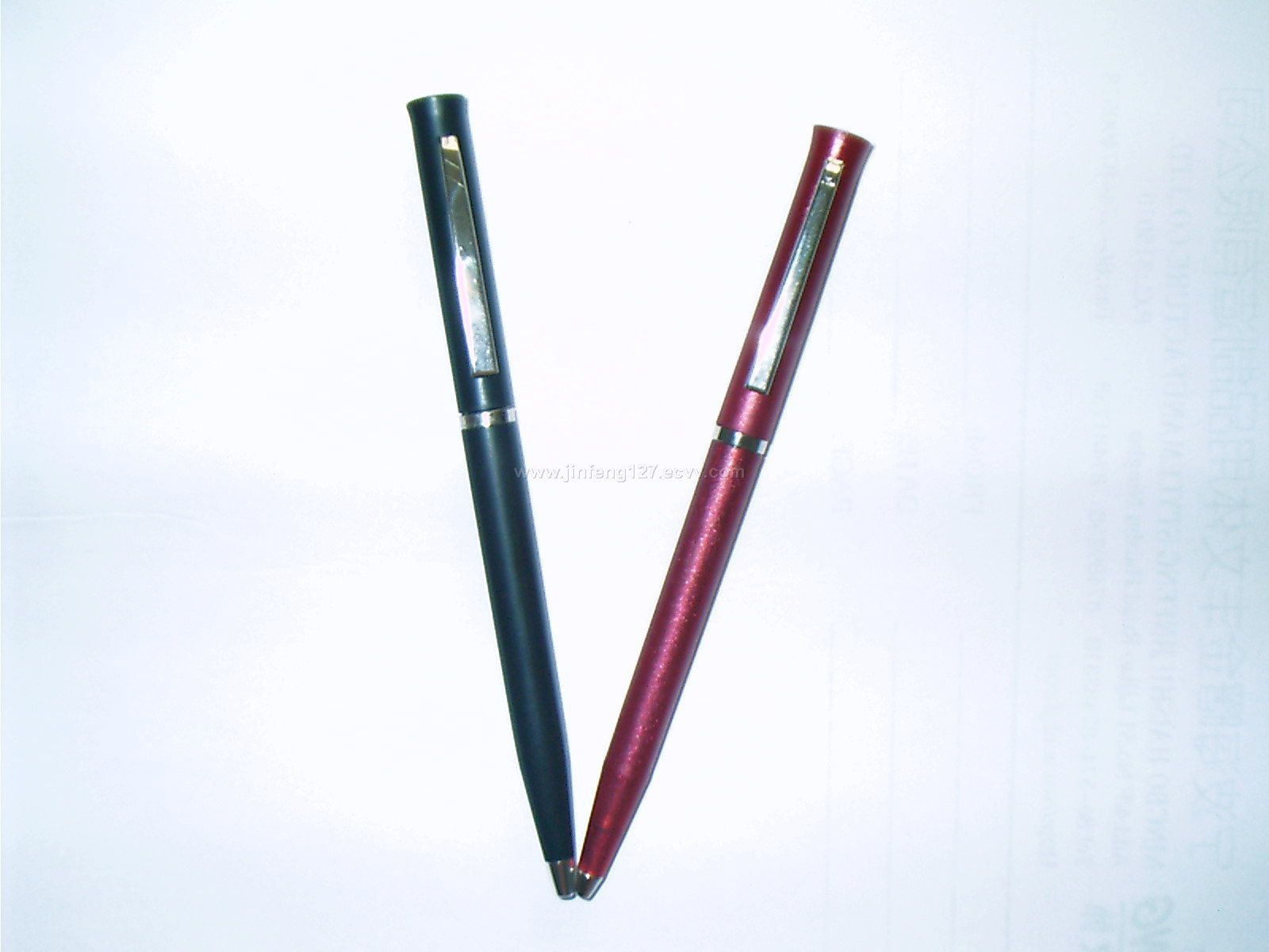twist ball point pen
