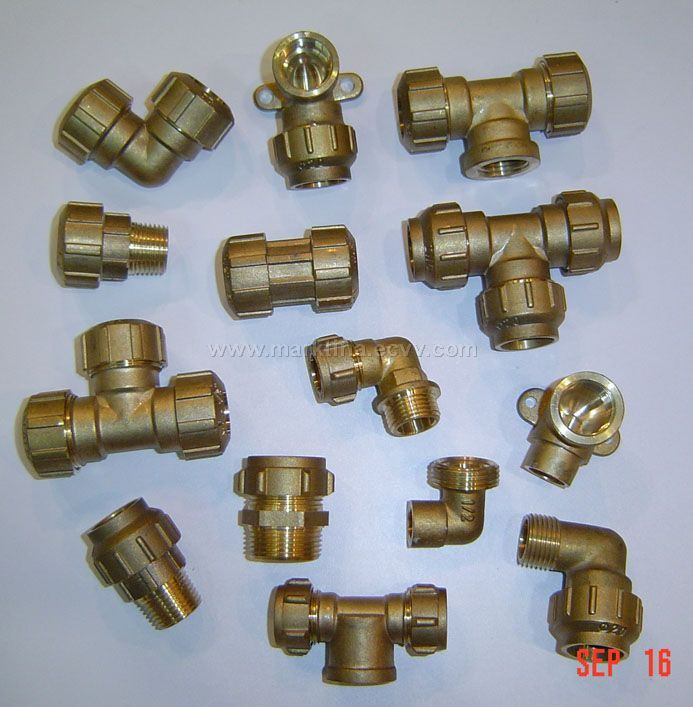 Brass compression fittings purchasing souring agent