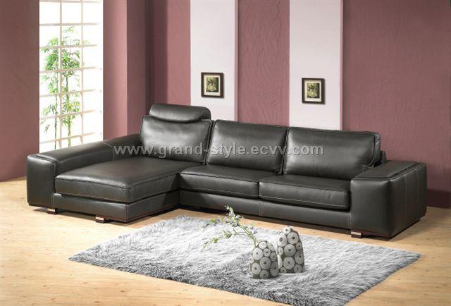 L shape sofa, corner sofa - DiySofa INC. - Leather sofa furniture