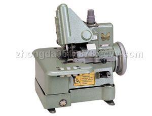Overlock sewing machine threading history