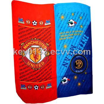 Football Fans Beach Towel Soccer Beach Towel From China