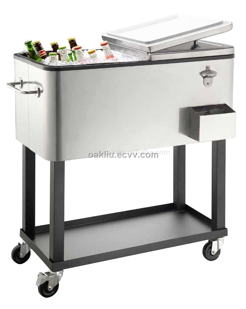 Patio Rolling Cooler Cart: Pictures, Posters, News And Videos On