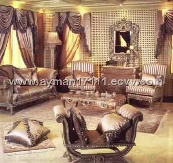 Antique Reproduction Living Room LR102Egypt Living Room