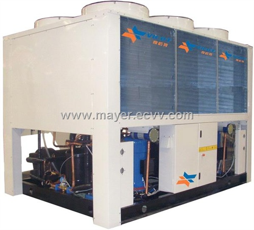 Packaged Chillers From Whaley Products, Incorporated Whaley packaged chillers incorporate high efficient R-410a which can be up to 10% more efficient than the retired R-22