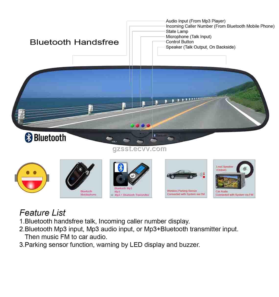 Car Bluetooth (B80) B80