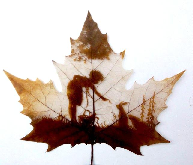 Pressed leaf sculpture unique leaf craft sh0006 purchasing for Unique fall crafts for adults