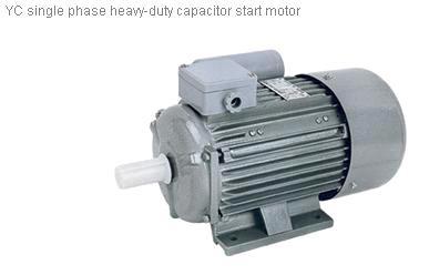 Yc series heavy duty single phase capacitor start Single phase induction motor capacitor start