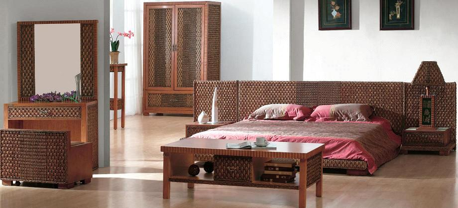 Indoor Rattan Bedroom Furniture 3 Purchasing Souring