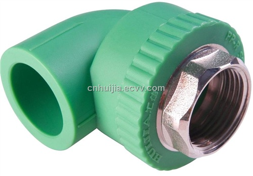 Ppr pipe fitting female threaded elbow purchasing