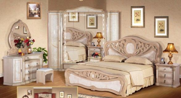 Bedroom Fureniture 306 Bedroom Suits China MDF Furniture Venus